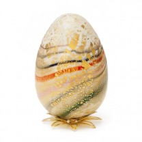 L'œuf en verre de Murano
