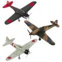 Les trois avions de la Seconde Guerre mondiale