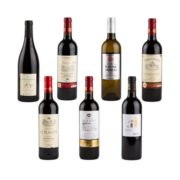 Assortiment de vins «Découverte Terroir»