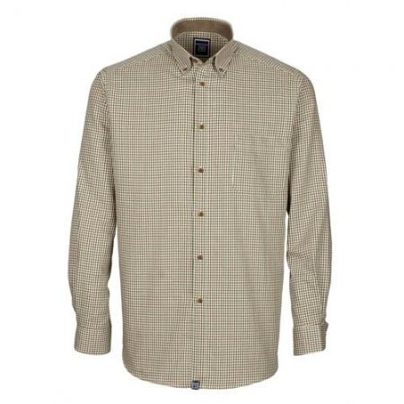 Chemise «coupe confort» Harryland petits carreaux