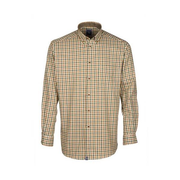 Chemise «coupe confort» Harryland grands carreaux