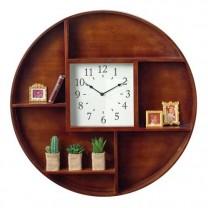 Horloge-étagère