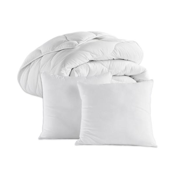 L'ensemble couette + 2 oreillers