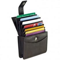 Porte-cartes vertical anti-RFID
