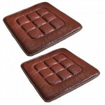 Couvre-chaises en cuir