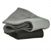 Chaussettes hautes microfibre DRYARN(r) - les 2 paires