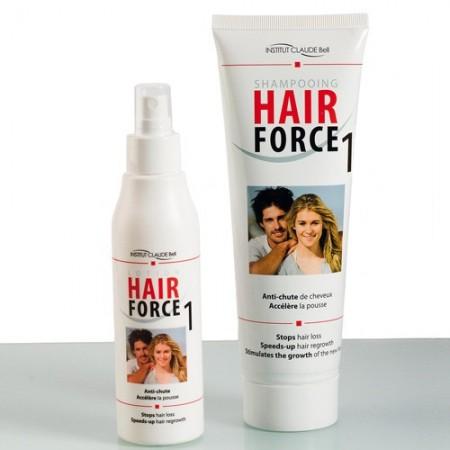 Duo anti-chute de cheveux «Hair Force 1»
