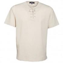 Tee-Shirt Lacé Coton & Lin