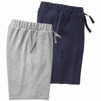 Les 2 Shorts Maille Confort