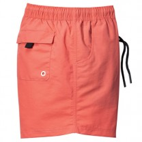 Short de bain séchage rapide Uni orange