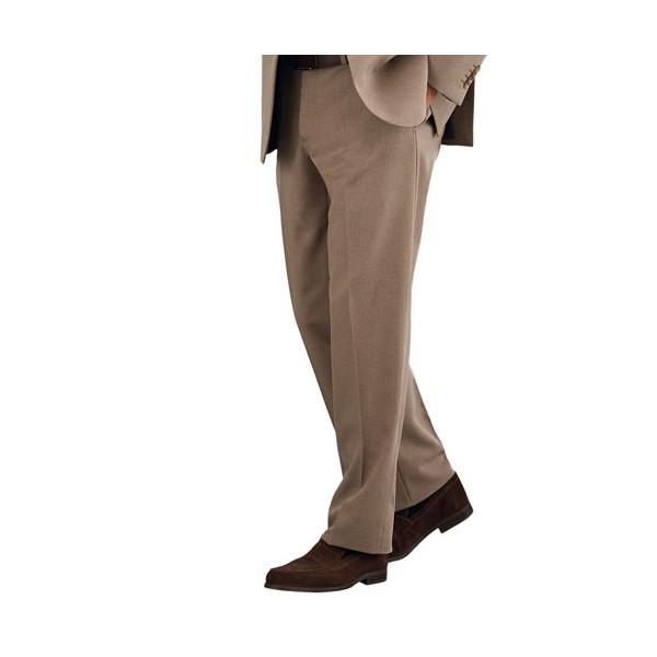 Pantalon de costume infroissable