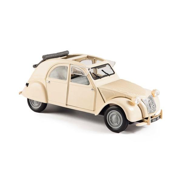 2 CV Citroën décapotée