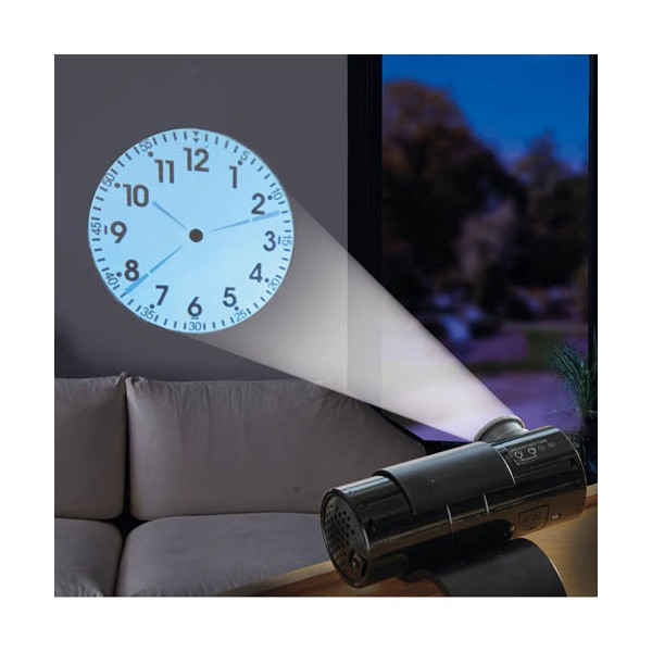 Horloge projection