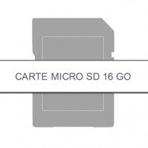 Carte micro SD 16 Go