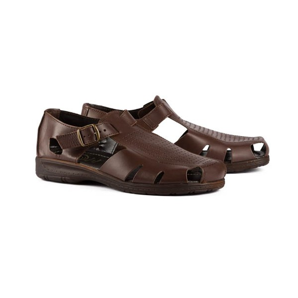 Sandales cuir ultra-light