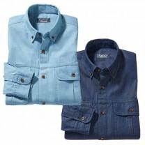 Chemises en jean - les 2