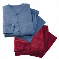 Pyjama coton classico - les 2 (de même taille)