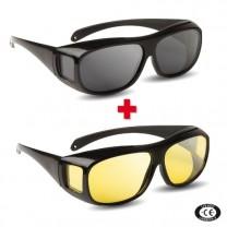 2 paires de lunettes Intégrales - Polarisées