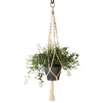 Support plante macramé