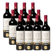 Château Haut Bardin 2017 - les 12 bouteilles