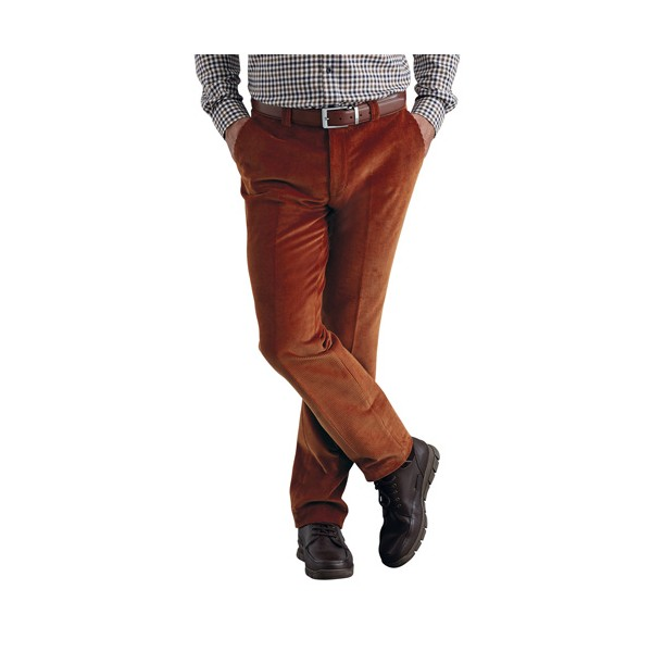 la meilleure attitude 9d6a6 03b34 Pantalon velours Bruno Saint Hilaire