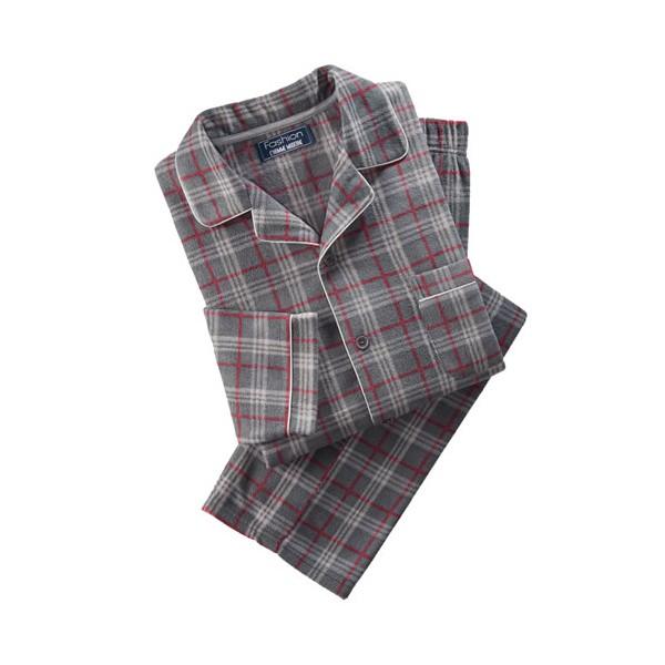Pyjama polaire à carreaux