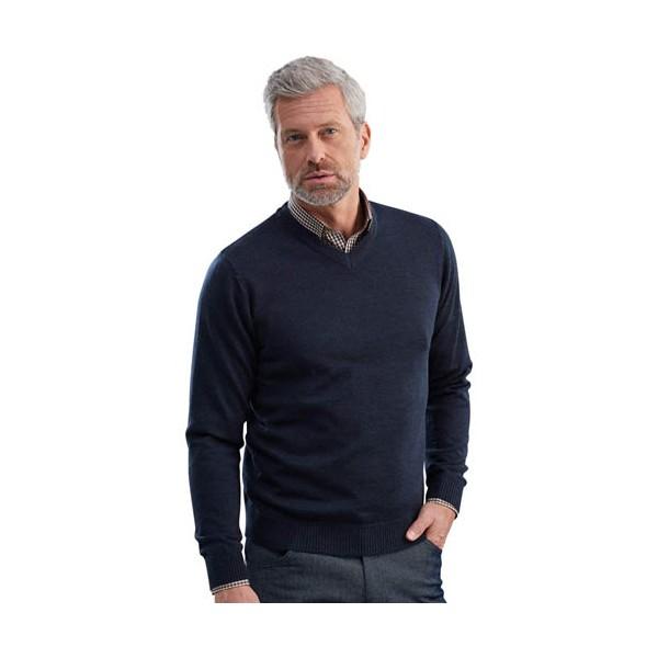 Pull laine & chemise offerte