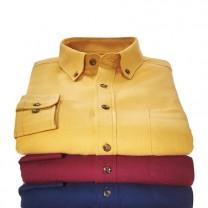 Chemises flanelle - les 3