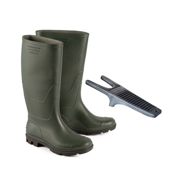 Bottes de pluie + tire bottes offert