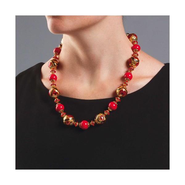 Collier perles de Murano Diva