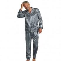 Pyjama satin rayé