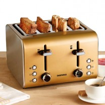 Double toaster inox