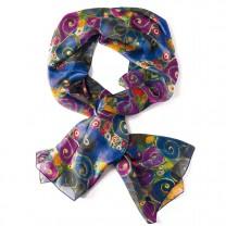 Foulard en soie Klimt