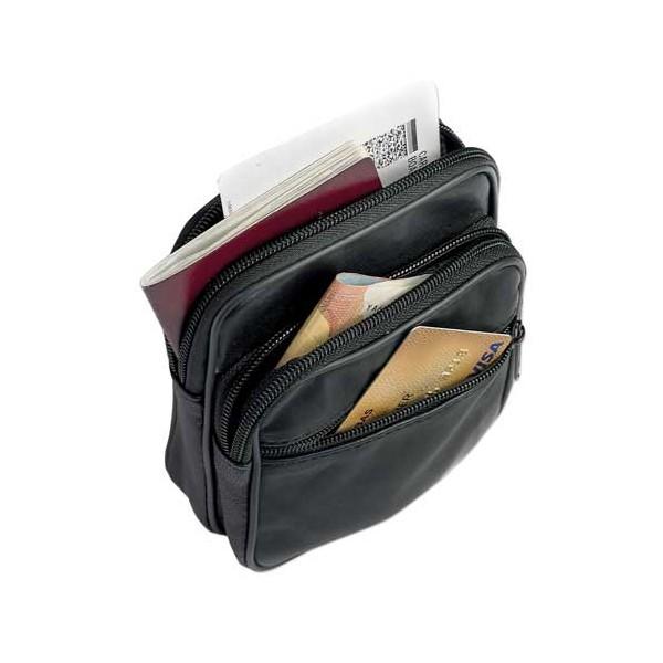 Pochette de ceinture cuir