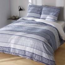 Parure de lit bleu Danube