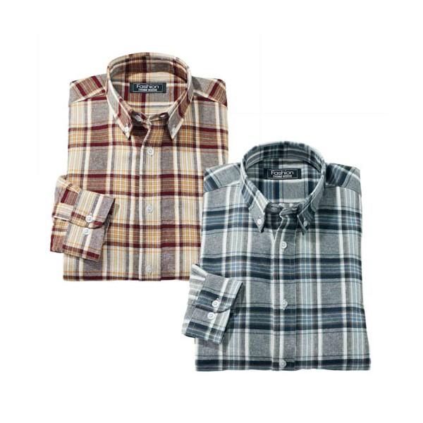 Chemises flanelle (de même taille) - les 2