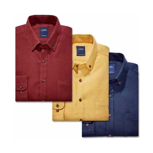 Trio de chemises flanelle