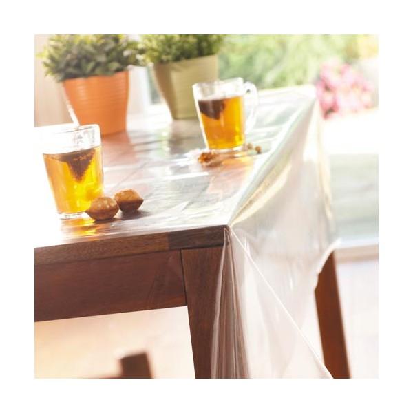 Protège-table transparent rectangulaire
