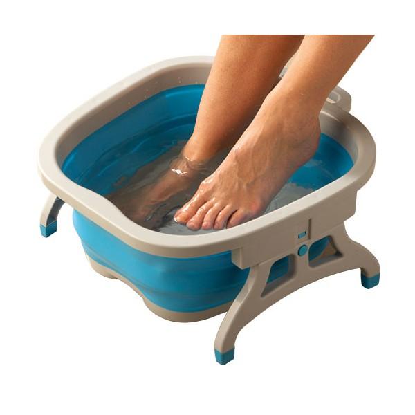 Bain de pieds gain de place