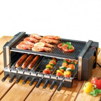 Barbecue-gril rotatif