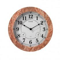 Horloge terracotta radio-pilotée