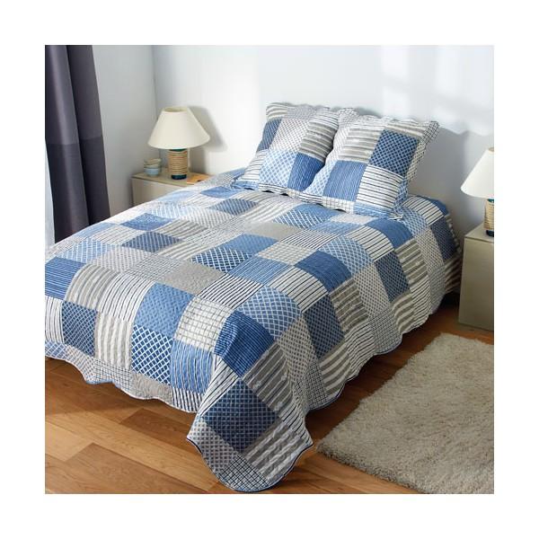 Couvre-lit et 2 taies bâbord BlanClarence®