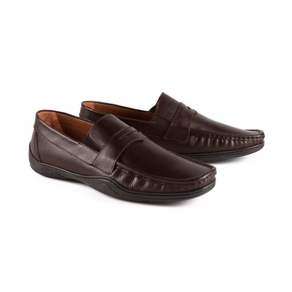 Mocassins cuir ultra-confort