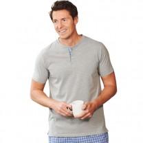 Pyjashort bi-matière
