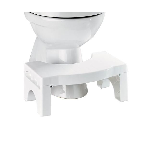 Repose-pieds physiologique WC