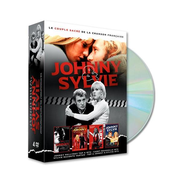Coffret DVD Johnny & Sylvie