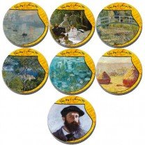 Le coffret Claude Monet
