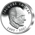 Jacques CHIRAC - Argent BE