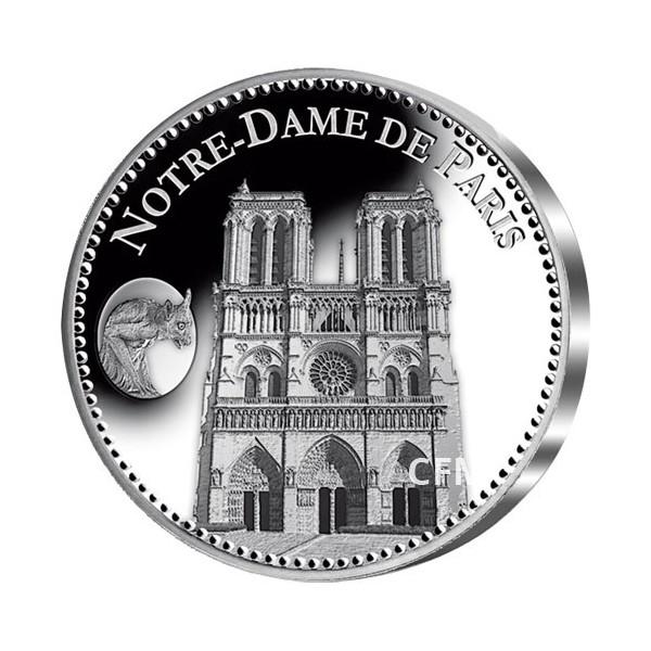 Notre-Dame de Paris - Argent BE