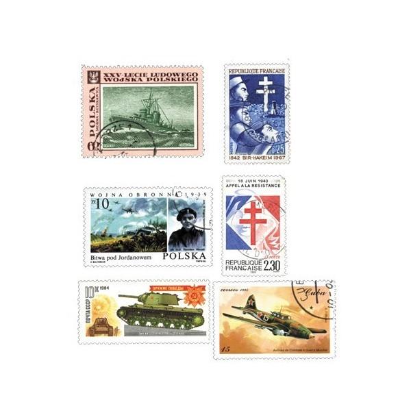 Lot de 50 timbres 39-45